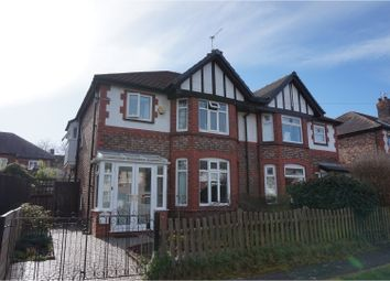 Thumbnail 4 bed semi-detached house for sale in Stanley Avenue, Warrington
