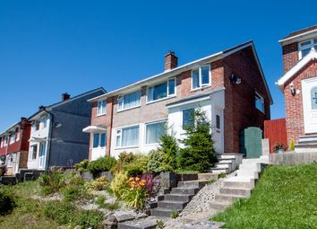 Thumbnail 3 bed semi-detached house for sale in Highclere Gardens, Plymouth