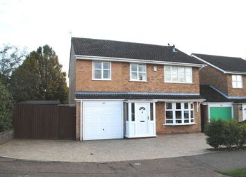 Thumbnail 5 bed detached house for sale in Reynard Way, Kingsthorpe, Northampton