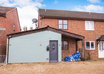 Thumbnail 2 bed end terrace house for sale in Castle Road, Wormegay, King's Lynn