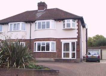 Thumbnail 3 bed semi-detached house for sale in Gladeside, Shirley, Croydon, Surrey
