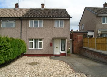 Thumbnail 3 bed semi-detached house for sale in Davies Drive, Uttoxeter