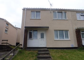 Thumbnail 3 bedroom end terrace house for sale in Brynfedw, Llanedeyrn, Cardiff