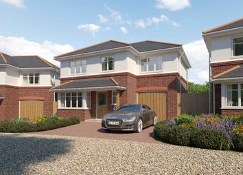 Thumbnail 4 bed detached house for sale in Cullwood Lane, New Milton