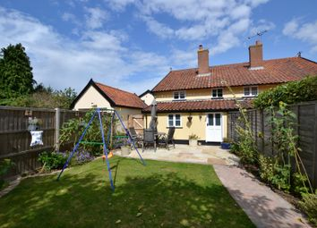 Thumbnail 2 bedroom cottage for sale in Bank Street, Pulham Market, Diss