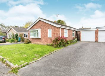 Thumbnail 3 bed detached bungalow for sale in Holliland Croft, Great Tey, Colchester