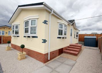 Thumbnail 2 bed mobile/park home for sale in Within Lane, Hopton, Stafford
