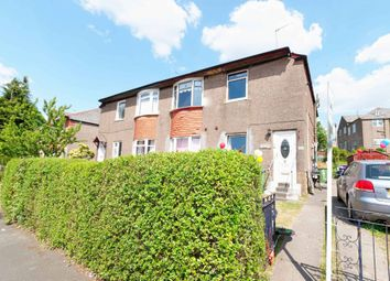 Thumbnail 2 bed flat for sale in Chirnside Road, Glasgow