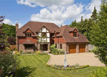 Thumbnail 6 bed detached house to rent in Brook Farm Road, Cobham, Surrey