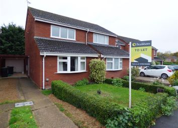 Thumbnail 2 bed semi-detached house to rent in Park Leys, Harlington, Dunstable