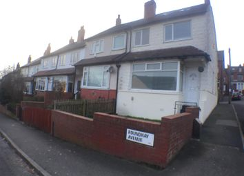 Thumbnail 3 bedroom end terrace house to rent in Roundhay Avenue, Leeds