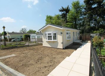 Thumbnail 1 bedroom mobile/park home for sale in Surrey Hills Residential Park, Boxhill Road, Tadworth
