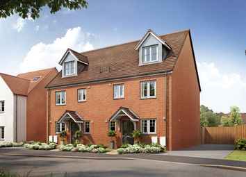 "Thumbnail 4 bed semi-detached house for sale in ""The Leicester"" at Old Oak Way, Harlow"