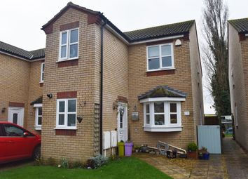 Thumbnail 3 bed detached house for sale in East Close, Newborough, Peterborough