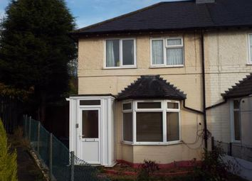 Thumbnail 2 bed end terrace house for sale in Ashmead Grove, Erdington, Birmingham, West Midlands