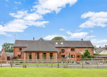 Thumbnail 4 bed barn conversion for sale in Swynnerton, Stone, Staffordshire