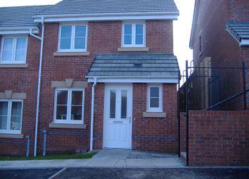 Thumbnail 3 bedroom semi-detached house to rent in 23 Clos Gwaith Brics, Tondu, Bridgend.
