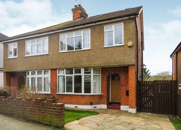 Thumbnail 4 bedroom semi-detached house for sale in Meadow Road, Berkhamsted