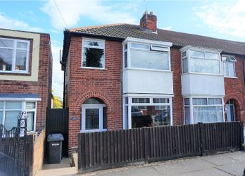 Thumbnail 3 bed end terrace house for sale in Percy Road, Leicester