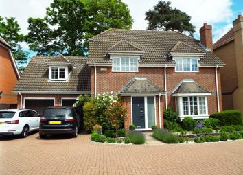 Thumbnail 4 bed detached house for sale in Manor Close, Brampton, Huntingdon, Cambs