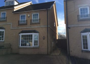 Thumbnail 3 bed semi-detached house for sale in Oakhill Court, Ardsley, Barnsley