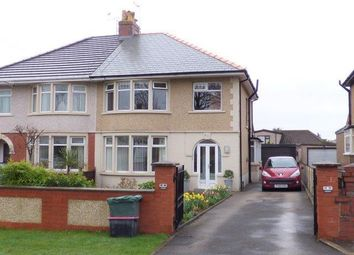 Thumbnail 3 bed semi-detached house for sale in Morecambe Road, Morecambe, Lancashire