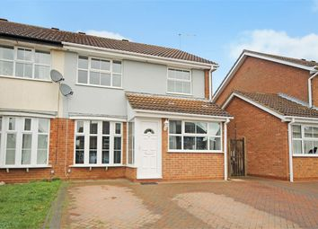 Thumbnail 4 bedroom semi-detached house for sale in Dairy Close, Brixworth, Northampton
