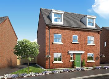 """Thumbnail 4 bed property for sale in """"The Honeysuckle"""" at Mansfield Road, Tibshelf, Alfreton"""