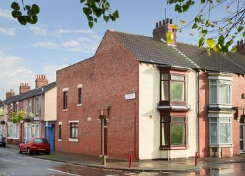 Thumbnail 3 bed end terrace house for sale in Parliament Road, Middlesbrough