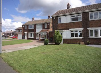 Thumbnail 2 bed semi-detached house to rent in Pennine Way, Chilton, Ferryhill