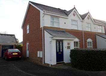 Thumbnail 3 bed semi-detached house to rent in Adams Close, Hedge End, Southampton