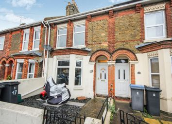 Thumbnail 2 bed terraced house for sale in Buckland Avenue, Dover