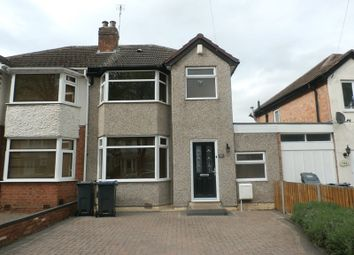 Thumbnail 3 bed semi-detached house for sale in Whitecroft Road, Sheldon, Birmingham