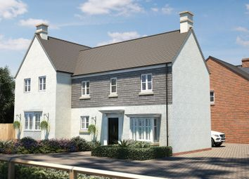 "Thumbnail 3 bedroom semi-detached house for sale in ""The Trelissick"" at Barracks Road, Modbury, Ivybridge"