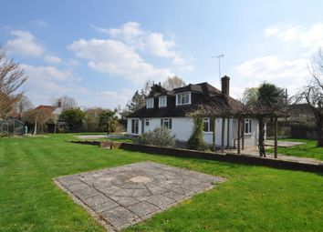 Thumbnail 4 bedroom detached house to rent in White Hart Lane, Wood Street Village, Guildford