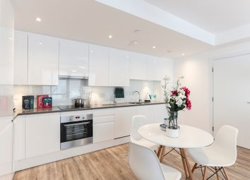Thumbnail 3 bed flat for sale in Silvertown Way, London
