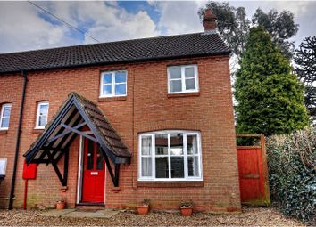 Thumbnail 2 bed semi-detached house to rent in Mill Road, Banningham, Norwich
