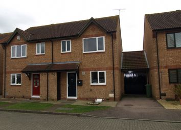 Thumbnail 3 bed semi-detached house for sale in St Bees, Monkston, Milton Keynes, Buckinghamshire