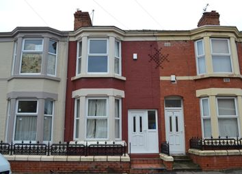 Thumbnail 4 bedroom terraced house to rent in Saxony Road, Kensington Fields, Liverpool