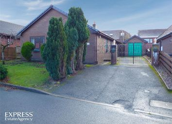 Thumbnail 4 bed detached bungalow for sale in Crabtree Green, Llandrindod Wells, Powys