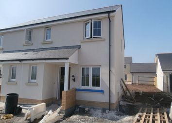 Thumbnail 3 bed semi-detached house to rent in Rhes Brickyard Row, Llanelli
