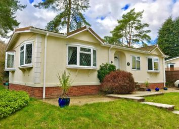 Thumbnail 2 bed mobile/park home for sale in California Country Park Homes, Nine Mile Ride, Finchampstead, Wokingham