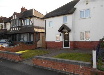 Thumbnail 3 bed semi-detached house to rent in St Michaels Road, Boldmere, Sutton Coldfield