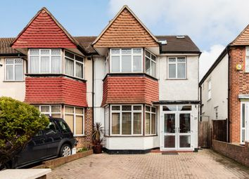 Thumbnail 4 bed semi-detached house for sale in Conway Gardens, Mitcham, London