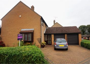 Thumbnail 4 bed detached house for sale in Stonebridge, Peterborough