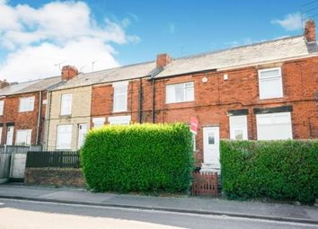 Thumbnail 2 bed terraced house for sale in Chesterfield Road, Grassmoor, Chesterfield, Derbyshire