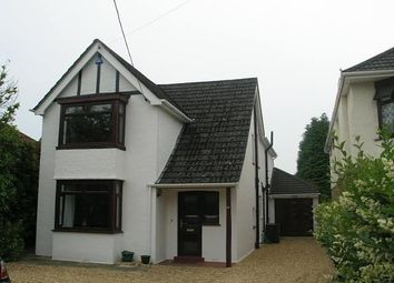 Thumbnail 4 bedroom detached house to rent in Church Road, Ferndown