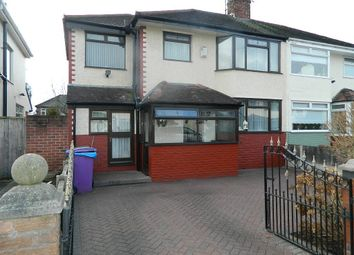 Thumbnail 4 bed semi-detached house for sale in Lydford Road, Liverpool