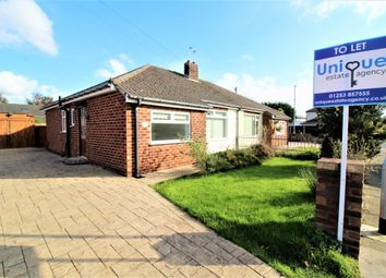 Thumbnail 2 bed bungalow to rent in Woodley Avenue, Thornton-Cleveleys