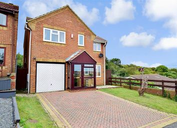 Thumbnail 4 bed detached house for sale in Anderson Close, Newhaven, East Sussex